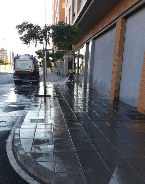 Limpieza intensiva Almería barrios