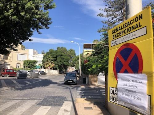 Almeria limpieza intensiva barrios