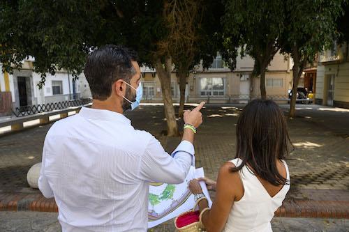 Almería mejoras PLAZA ORBANEJA