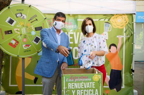 Almería campaña reciclaje