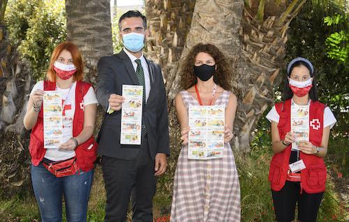 Alcalde Almería Cruz Roja