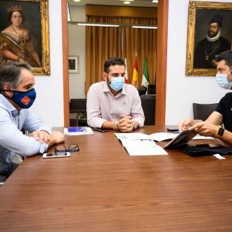 Alcalde Almería con Robonity