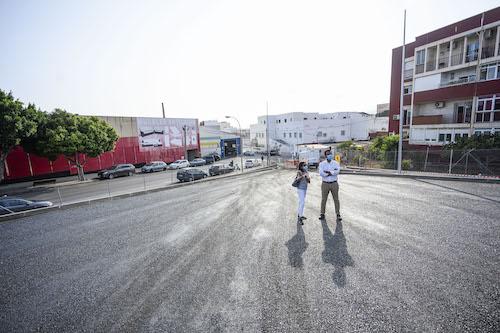 Almería transformación solares aparcamientos