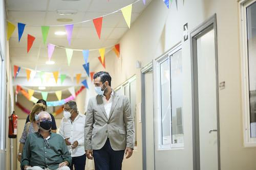 Alcalde Almería visita Verdiblanca