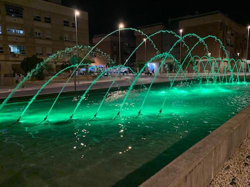 Almería iluminación solidaria artritis