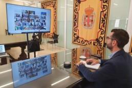 Alcalde Almería reunión FEMP