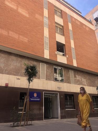 Almería edificio municipal administrativo