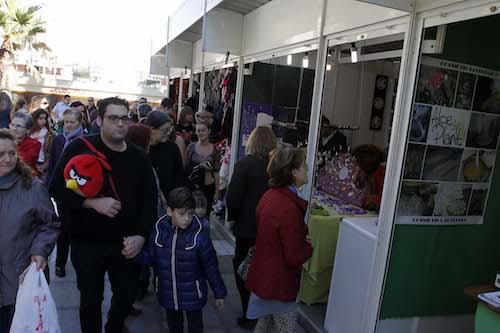 Almería mercado navideño Rambla
