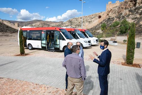 Almería autobuses casco histórico