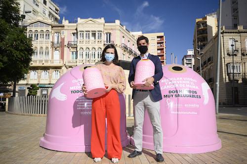 Almería ecovidrio cáncer mama