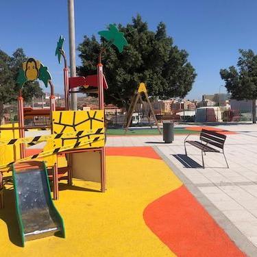 Almería remodelación parque Almendros