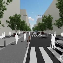 Ayuntamiento Almería asfaltado Paseo