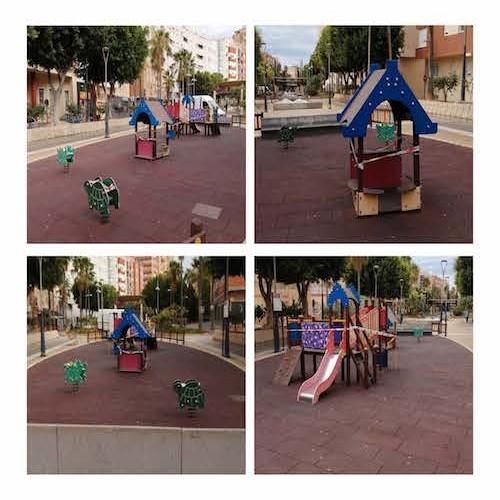 Almería parques infantiles