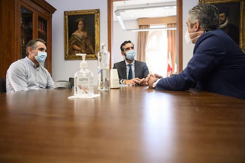 Almería Alcalde presidente UnicajaVoley