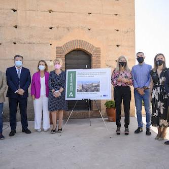 Visita Consejera Alcazaba Almería