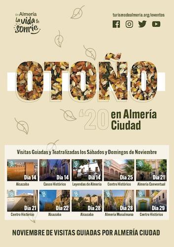 Visitas guiadas otoño Almería