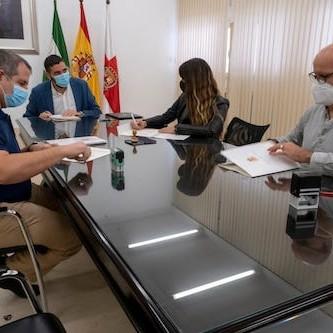 Ayuntamiento Almería firma teletrabajo