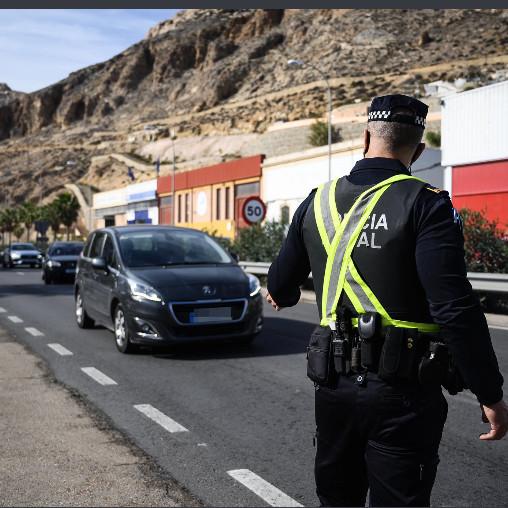 Almería control policia Covid