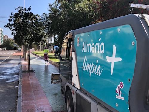 Almería limpieza intensiva barrios