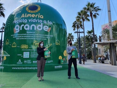 Almería sostenibilidad Campaña ECOVIDRIO