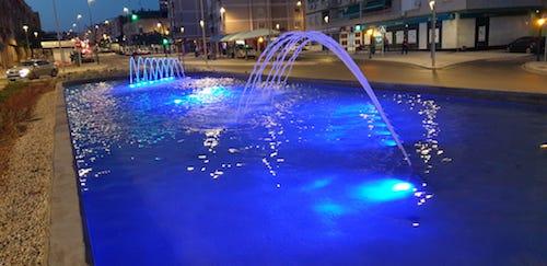 Ayuntamiento Almería iluminación sollidaria