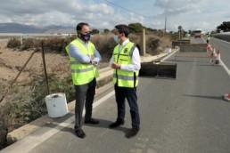 Almería obras carreteras Alquián