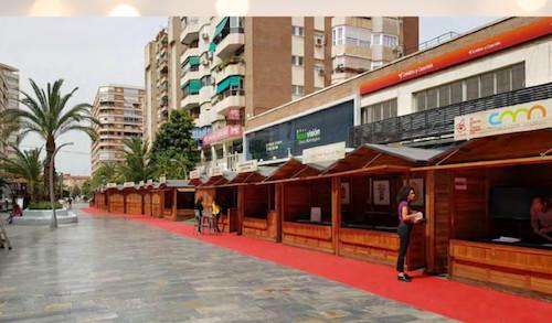 Almería nuevas casetas Navidad