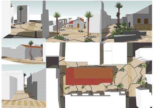 Almería remodelación Plaza Alquián
