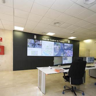 Almería sala Control tráfico