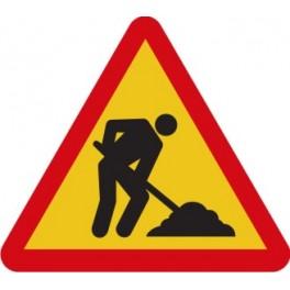 Aviso corte tráfico obras