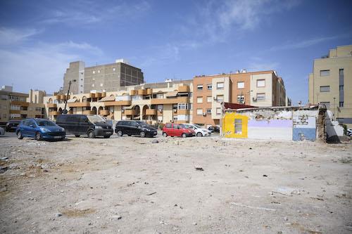 Almería solares barrio Alto