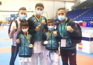 Almería deportes medallas karate