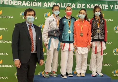 Almería deportes karate femenino