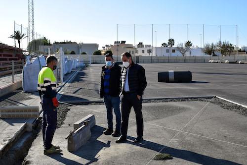 Almería deportes mejora campos