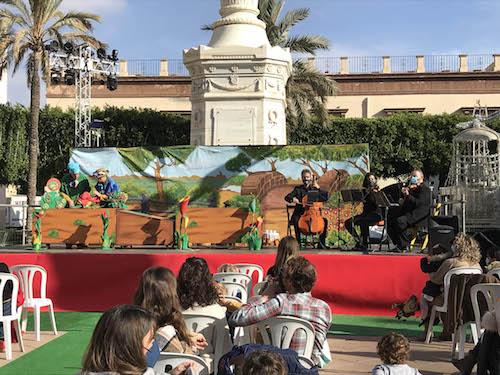 Almería teatro infantil navidad