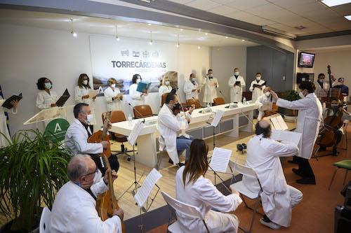Almería orquesta hospital Torrecárdenas