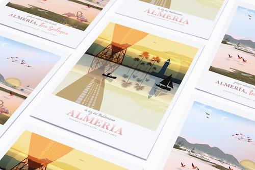 Almería ilustraciones turismo