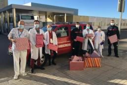 Almería Bomberos regalos solidarios