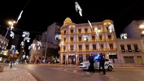 Almería Navidad seguridad