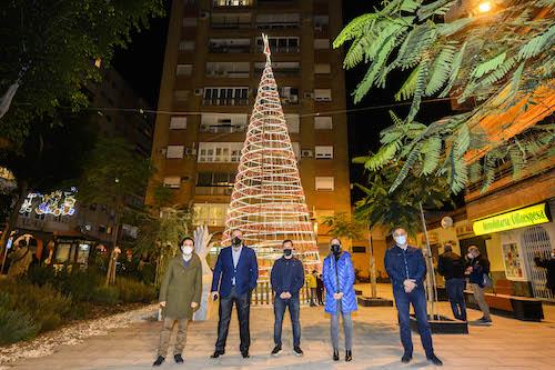 Almería alumbrado navideño Oliveros