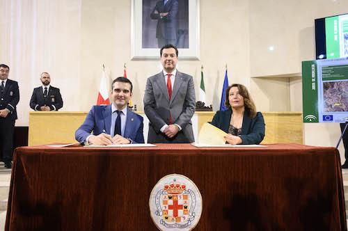 Almería convenio abastecimiento aguas