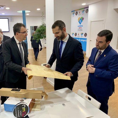 Alcaldes Almería y Murcia