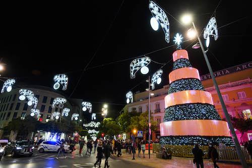 Alumbrado navideño Almería 2020