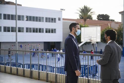 Alcalde Almería charla constitución