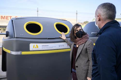 Almería nuevos contenedores reciclaje