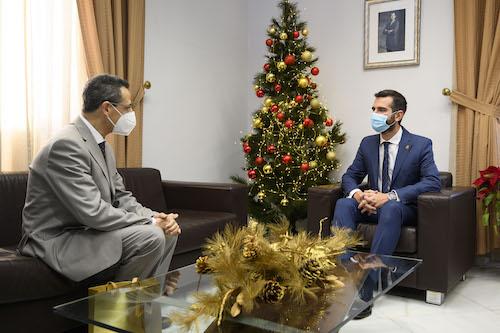 Ayuntamiento Almería cónsul marruecos