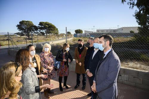 Solar nuevo conservatorio Almería