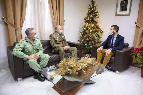 Alcalde Almería Coronel MADOC