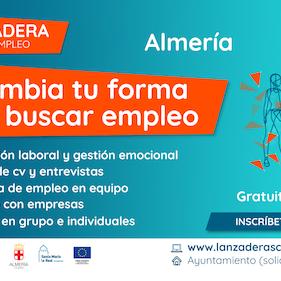 Cartel Lanzadera Conecta Empleo Almeria