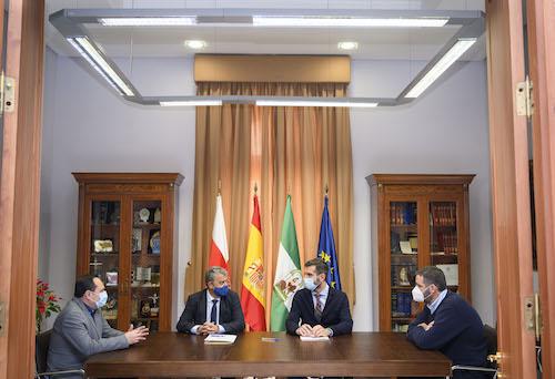 Convenio Alcalde y Rector Almería